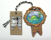 Nessie Gift Tag, Ornament