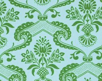 50053-   Jennifer Paganelli PWJP072 Circa Lilly in green  color -1 yard