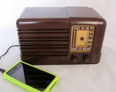 RCA Radio –1939… Restored & iPod-Ready!