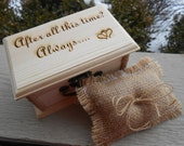 Harry Potter Ring Box & Pillow. CHOOSE YOUR PILLOW Style! After All This Time, Always, Wedding Accessories. Ring Bearer, Bridal. Chest.