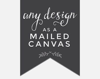 Canvas Gallery Wrap any Bokeh Ever After Design!