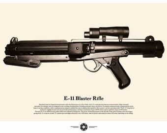 Star Wars Weapon Poster - Stormtrooper Blaster