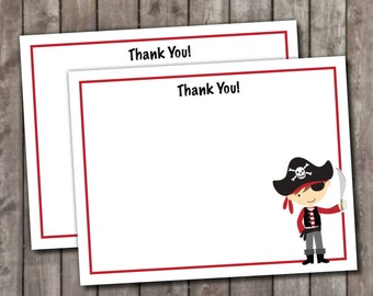 Personalized Pirate Stationery