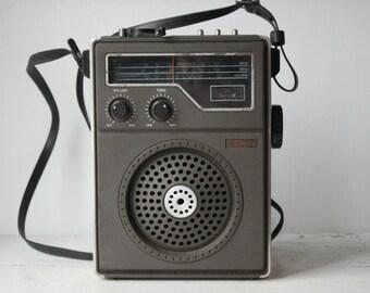 Vintage Sharp Transitor Radio/reserved for mishe