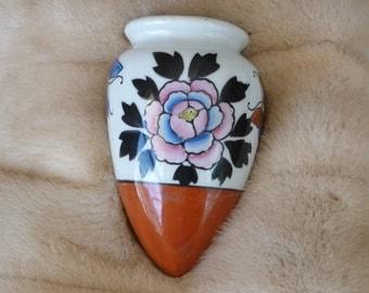 Vintage Ceramic Wall Pocket or Vase