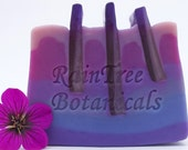 Gourmet Soap– Ultraviolet Artisan Handmade Cold Process Soap with Silk