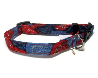 Bandana Dog Collar size Small
