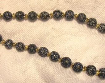 Antique Venetian Fancy Bead Necklace