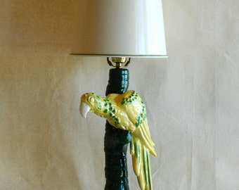 Yellow Parrot Lamp
