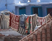 """Line Drying Rugs in Morocco - 8"""" x 10"""" fine art print"""
