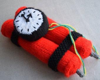 Dynamite Bomb Knitting Pattern PDF