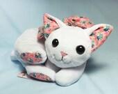 Cozy Kitty - white plush cat