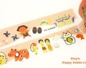 Japanese Washi Masking Tape - Janpanese Culture - 5.5 Yards