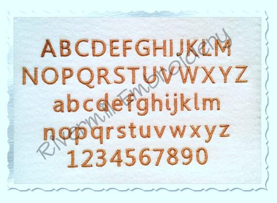 Small mini keep calm machine embroidery font monogram alphabet for Keep calm font