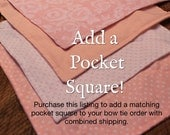 Pocket Square Add-On