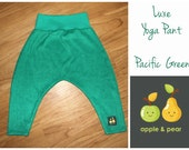 Toddler yoga pants Pacific Surf Green