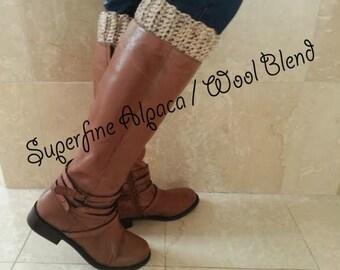 Alpaca Wool Boot Cuffs Alpaca Wool Boot Cuffs Womens Alpaca Wool Blend Boot Cuffs Alpaca Wool Blend Boot Socks Free Shipping Boot Cuffs Boho