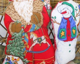 Santa-snow man and Reindeer Home decor
