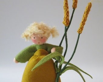 Wheat Girl - Nature Table - Waldorf inspired