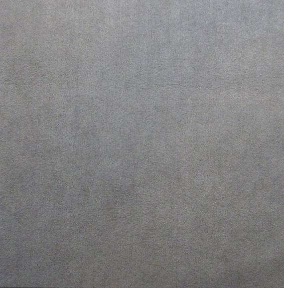 Dove gray ultrasuede fabric for bead embroidery square