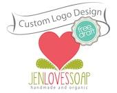 Custom Logo Design ooak BIG SALE - Unique business logo and watermark - ooak design -boutique logo, photographer logo