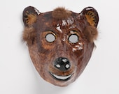 Paper mask  bear mask hand made