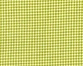 Lime Green Tiny Gingham From Michael Miller