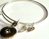 ArtSnappinz Bracelet Base Works with ArtSnappinz DIY Snaps