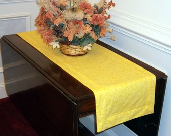 Yellow Table Runner, 51 inches