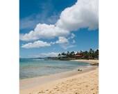 Hawaii beach Photograph - Poipu beach Hawaii - Hawaii beach photograph - Kauai photograph - Hawaii art print - Hawaii beach wall art
