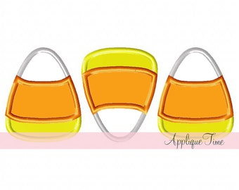 Instant Download Candy Corn Trio Machine Embroidery Applique Design 4x4, 5x7 and 6x10