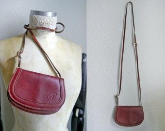 VIntage saddle bag satchel small handbag purse Bohemian Festival Oktoberfest Party mini  bag