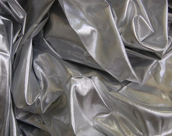 Silver Sheer Lame