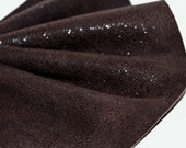 Dark Brown  Genuine Leather,Imitation Hair Leather,Shiny