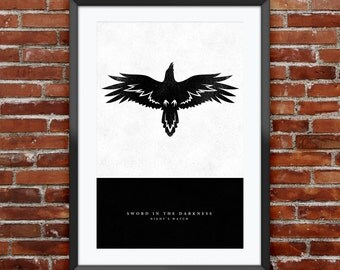 """Game of Thrones - Night's Watch print 11X17"""""""