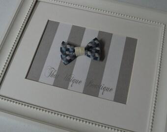 Newborn Bow Tie...Photography Prop...Newborn Prop...Baby Boy Photo Prop...Baby Boy Bow Tie...Bow Tie...Blue