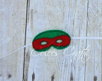 Custom Elf Turtle Mask