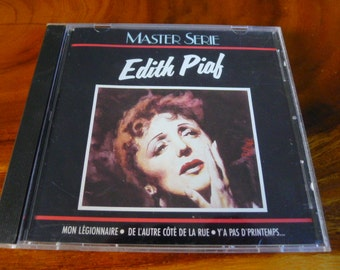 EDITH PIAF Master Serie CD cabaret torch songs chanson