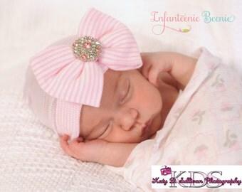 newborn girl take home outfit baby girl infanteenie beanie baby newborn girl newborn hat newborn hospital hat newborn hats