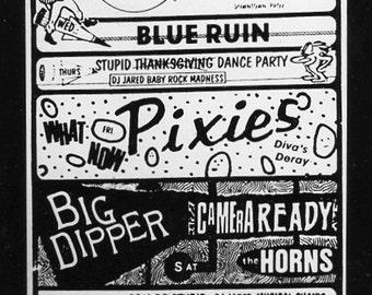 Pixies Rocket  Providence  Rhode Island gelatin silver print