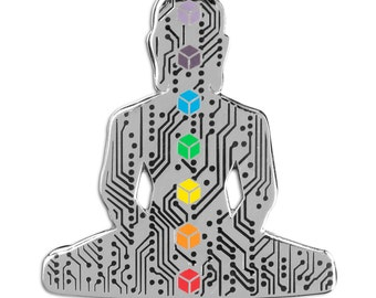 Digital Buddha 2.0 Pin