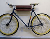 Handmade Walnut Bike Shelf