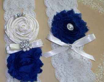 30 Colors, wedding Garter, Garter,Royal Blue Garter,Royal Blue wedding,Something Blue,Mix and Match Garter,Plus Size Garter