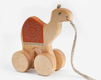 Wooden Toy Camel, eco-friendly kids toy