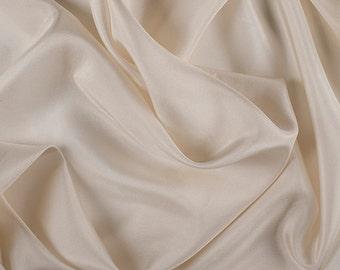 "45"" Wide 100% Silk Habotai Soft Yellow-Wholesale by the Yard"