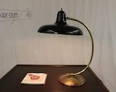 SALE Mid century modern, vintage, retro table lamp, desk lamp by Gerald Thurston for Lightolier