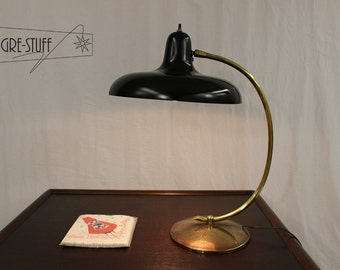 SALE Mid century modern, vintage, retro table lamp, desk lamp by Gerald Thurston for Lightolier