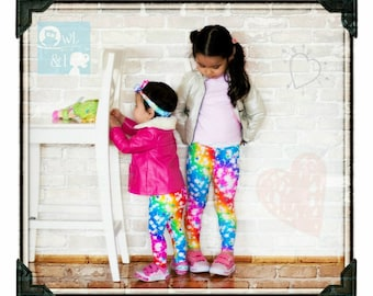 PATTERN Baby Leggings (Pins) - PDF Pattern and Tutorial (Instant Download)