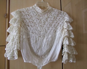 Vintage Edwardian Blouse Franklin Simon and Co. Parfait style ala 1914
