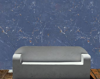 Removable Wallpaper- Shipyard- Peel & Stick Self Adhesive Fabric Temporary Wallpaper-Repositionable-Reusable- FAST. EASY.